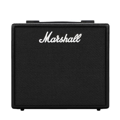 "Marshall Code25 25W, 1x10"" digital combo w/100 presets, Bluetooth and USB"
