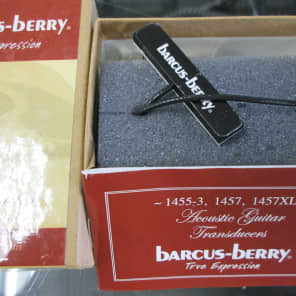 Barcus-Berry 1455-3 Acoustic Guitar Pickup