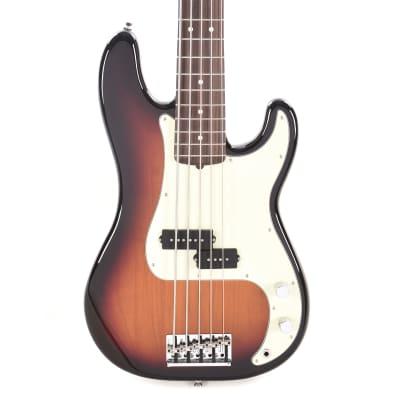 Fender American Pro Precision Bass V 3-Color Sunburst w/Mint Pickguard USED