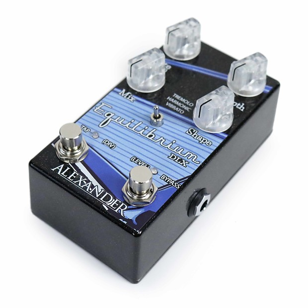 used alexander pedals equilibrium dlx harmonic tremolo reverb. Black Bedroom Furniture Sets. Home Design Ideas