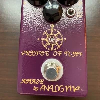 Analogman Prince of Tone Overdrive / Boost / Distortion Pedal (Bought on 10/16) for sale