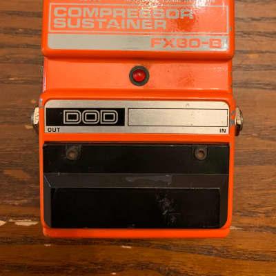DOD FX80B Compressor Sustainer Pedal for sale