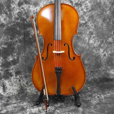 Hofner H4/3 - C3/4  Size 3/4 Cello, Bow and Gig Bag - Made in Germany for sale