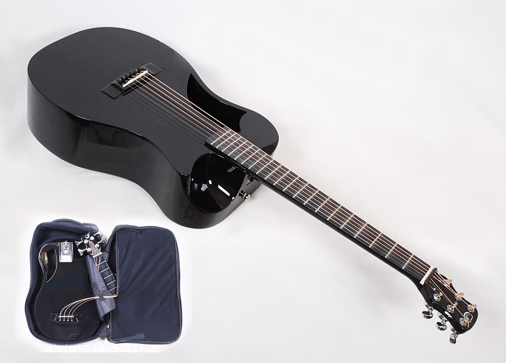 journey instruments of660 black carbon fiber travel guitar reverb. Black Bedroom Furniture Sets. Home Design Ideas