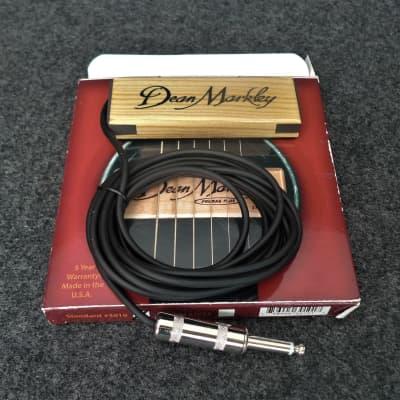 Dean Markley DM3010 Pro Mag Plus Single Coil Acoustic Guitar Sound Hole Pickup
