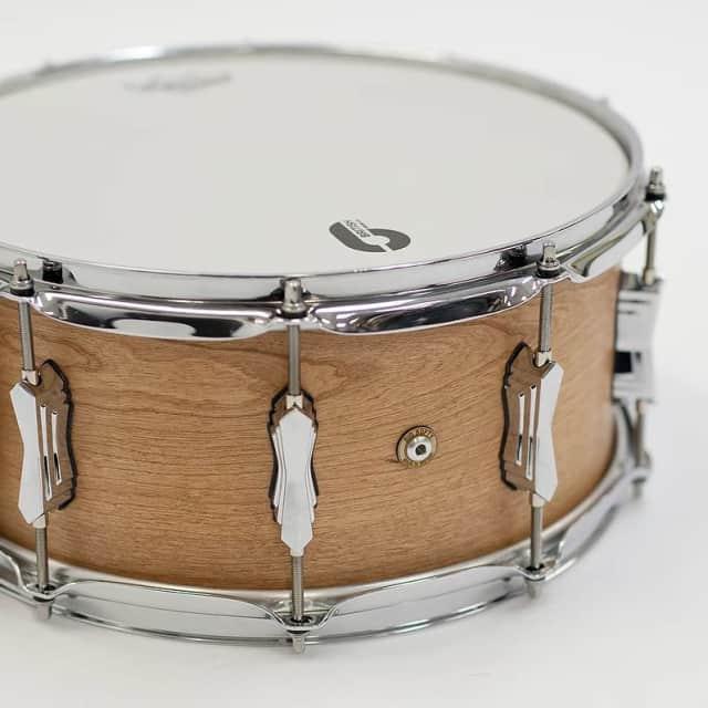 British Drum Co. Big Softy Snare Drum, 14x6.5in image