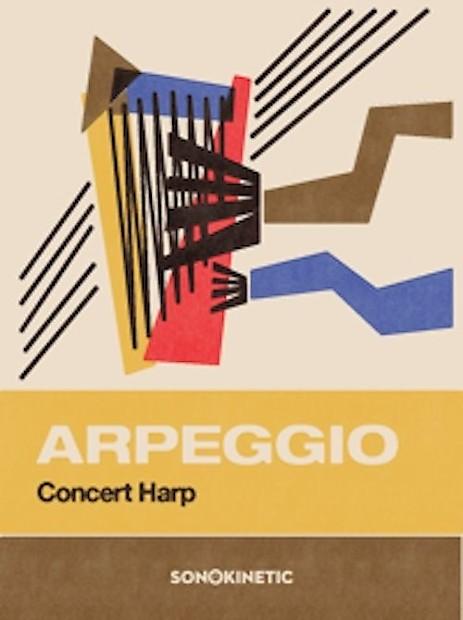 New Big Fish Audio Arpeggio Instruments Samples Loops Concert Harp Download