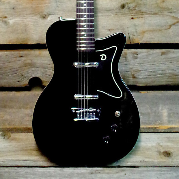 danelectro 56 reissue baritone guitar black reverb. Black Bedroom Furniture Sets. Home Design Ideas