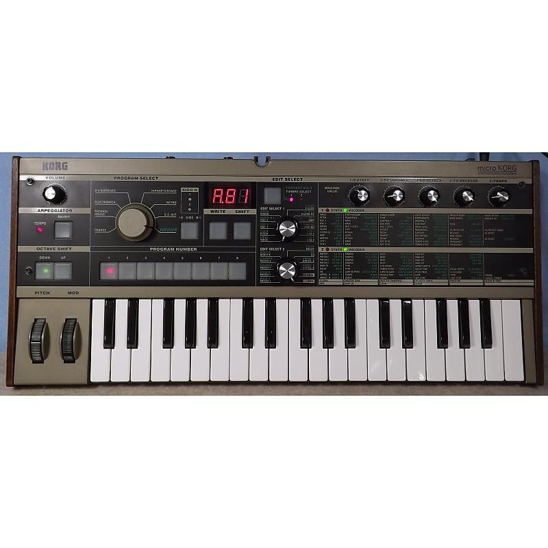 Korg microKORG Synthesizer/Vocoder | Reverb