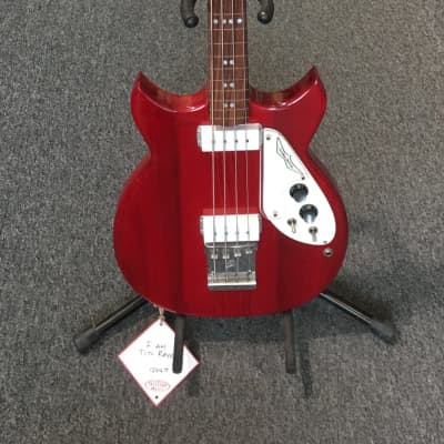 Used 1970s Micro-Frets Signature Fretless Bass With OHSC + Tag for sale