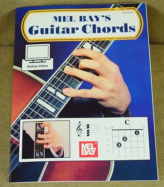 Mel Bay Guitar Chords Book Is New Dales Gear Depot Reverb