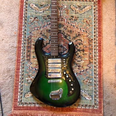 Kimberly Bison 1960-1970 Green Burst for sale