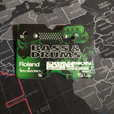 Roland SR-JV80-10 Bass and Drums Expansion Board