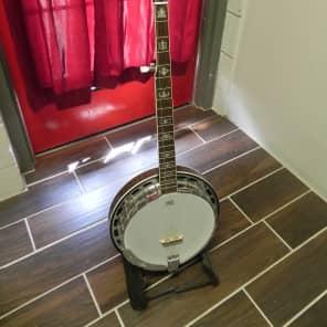 Ortega 5-String Banjo Flamed Maple for sale