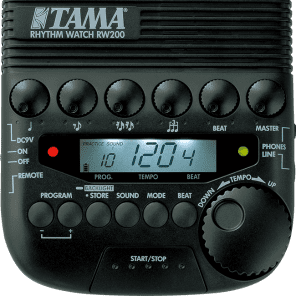 Tama RW200 Rhythm Watch Programmable Metronome for sale