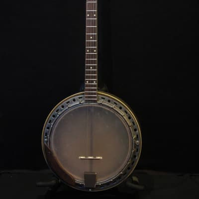 Kay 5-string Resonator Banjo Rare Gold Finish With Custom Hard Shell Case for sale