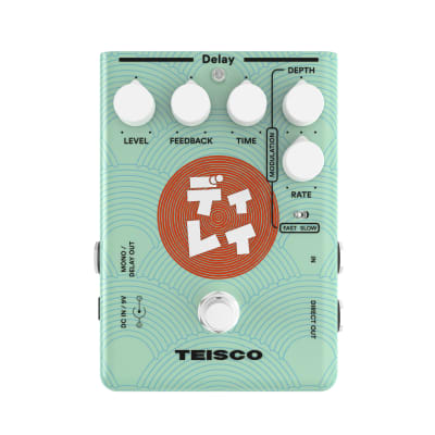 Teisco Delay Guitar Effect Pedal