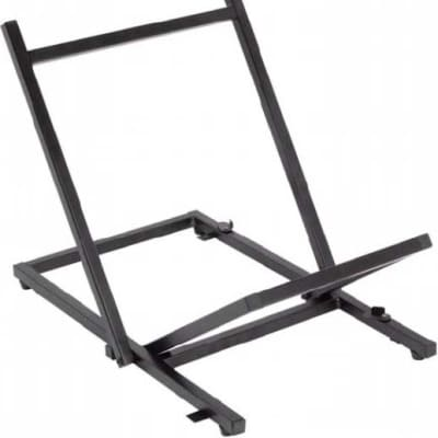 On-Stage RS6000 Foldable Tiltback Amplifier Stand, Black
