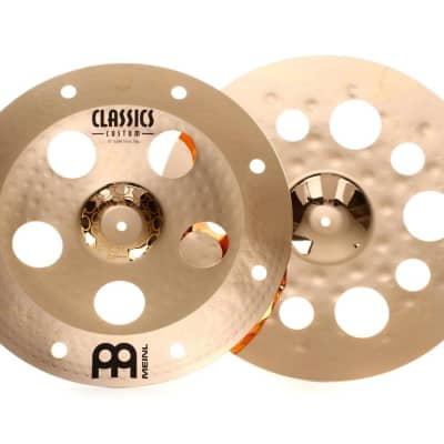 """Meinl 18""""/18"""" Artist Concept Series Thomas Lang Signature Super-Stack Cymbals (Pair)"""
