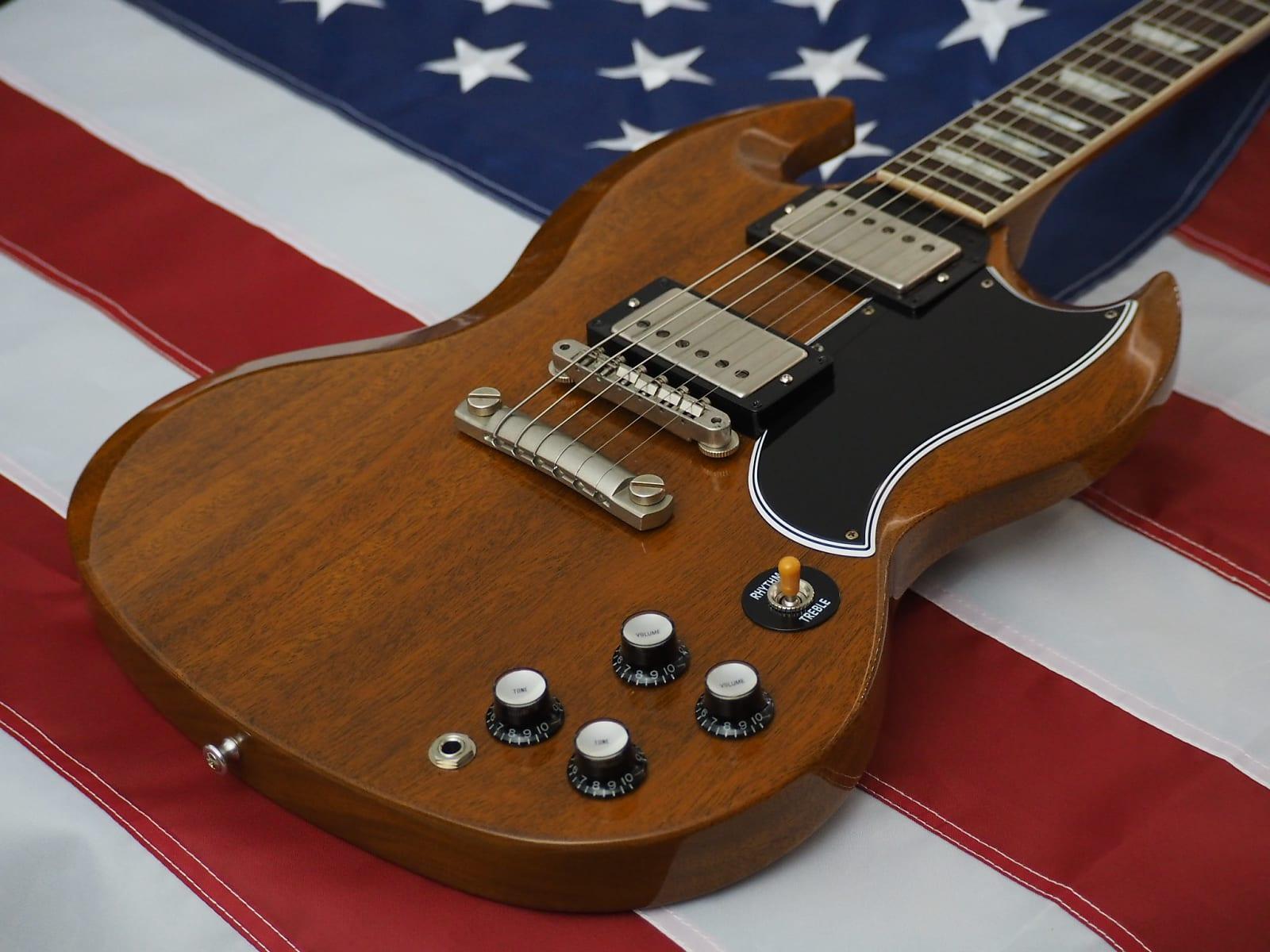Gibson Custom 1962 SG Standard Sunshine Stop Bar VOS MINT