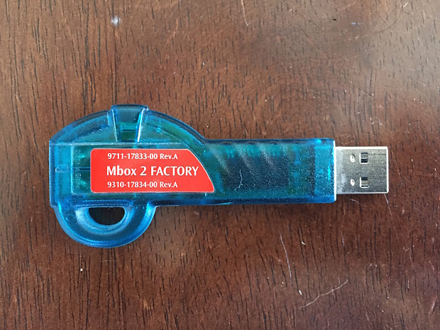 Pace iLok 1 (First Generation) 2000s Green/Blue