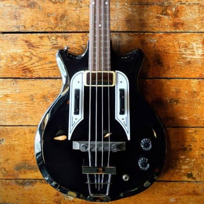 Airline Pocket Bass - Black for sale