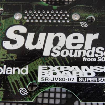 Roland SR-JV80-07 Super Sound Set Expansion Board