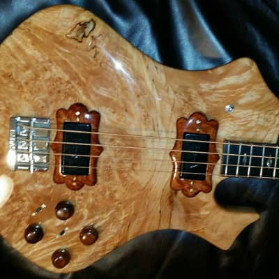Moonstone Earth Axe Bass 1976 Impeccable Clear Gloss for sale