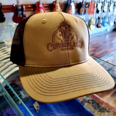 Cumberland Guitars Trucker Hat - Khaki / Brown