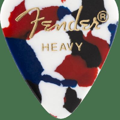 Fender 351 Shape Premium Celluloid Heavy Picks