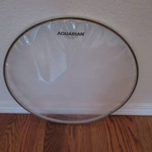 "Aquarian CC15-U 15"" Classic Clear Drum Head"