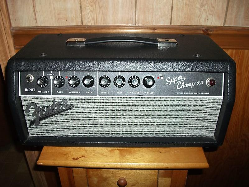 fender super champ x2 hd 2 channel 15 watt guitar amp head reverb. Black Bedroom Furniture Sets. Home Design Ideas