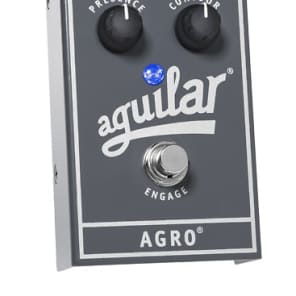 Aguilar Agro Bass Overdrive Effect Pedal for sale