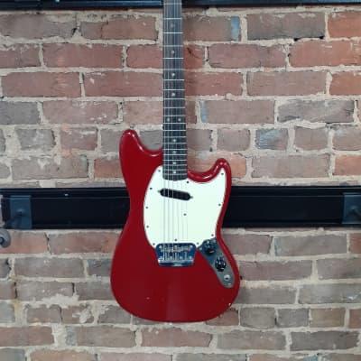 Fender Musicmaster II Dakota Red 1965 for sale