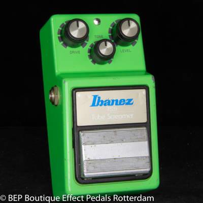 Ibanez TS-9 Tube Screamer 1982 Japan s/n 235301 Black Label with JRC4558D op amp, The Edge U2
