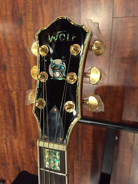 Wolf Wlp 750t 2017 Wine Red Electric Guitar Reverb