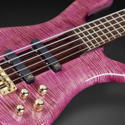 Warwick Masterbuilt Streamer Stage I, 5-String - Bleached French Violet Transparent High Polish for sale