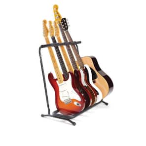 Fender Multi Folding 5-Guitar Stand for sale