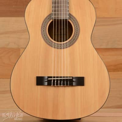 Fender FA-15N 3/4 Nylon String Guitar with Gig Bag, Natural