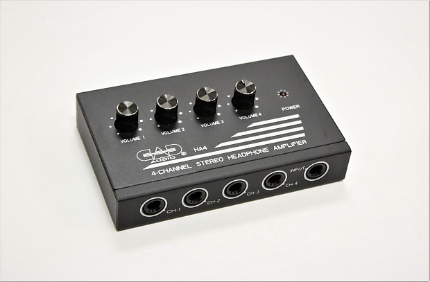 CAD Audio Four Channel Stereo Headphone Amplifier HA4