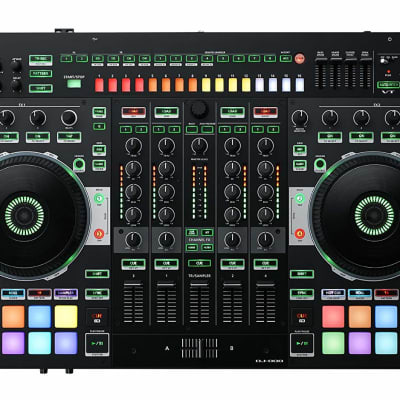 Roland DJ-808 4-Ch Serato DJ Performance Audio Interface Drum Machine Controller NEW
