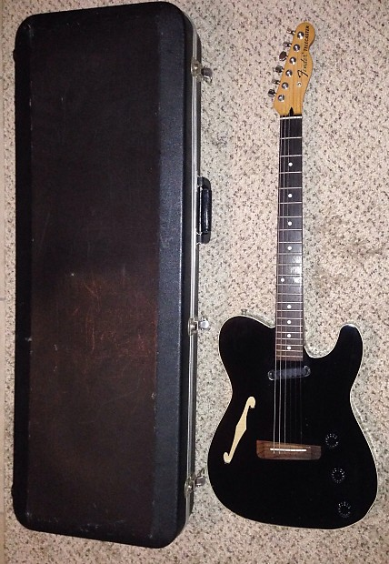 fender tla 100 acoustic electric telecaster guitar made in reverb. Black Bedroom Furniture Sets. Home Design Ideas
