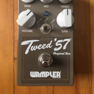 Wampler Tweed '57 version 2 - V2  / Fender Tweed Deluxe - Bassman - Twin and champ in a pedal