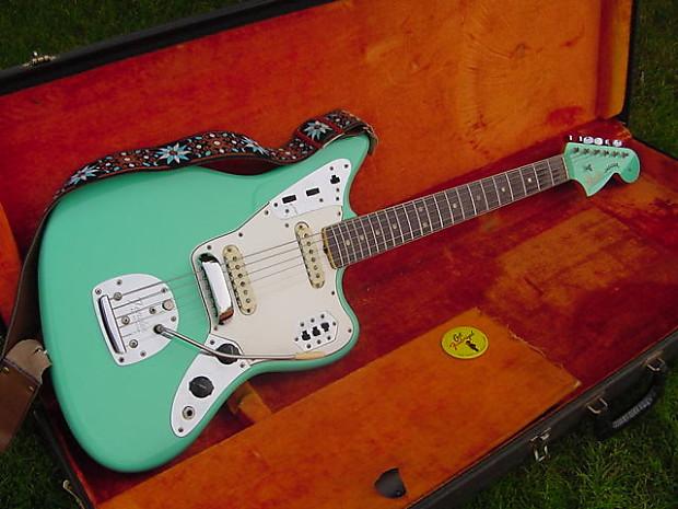 Vintage Fender Jaguar 1966 Sea Foam Green Factory Custom