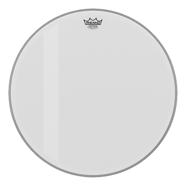 remo powerstroke 3 bass drum head coated felt tone 18 inch reverb. Black Bedroom Furniture Sets. Home Design Ideas