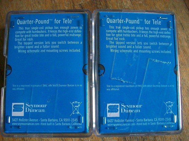 Seymour duncan quarter pound telecaster pickup set stl 3 reverb description shop policies cheapraybanclubmaster Gallery