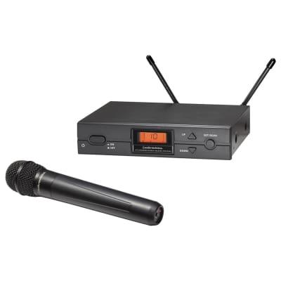 Audio-Technica ATW-2120BI 2000 Series Wireless Handheld Microphone System - Band I (487.125-506.500 MHz)