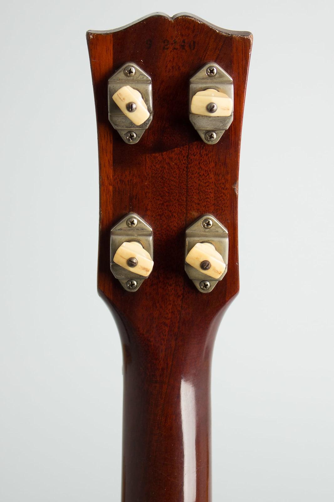 Gibson  EB-0 Solid Body Electric Bass Guitar (1959), ser. #9-2140, NO CASE case.