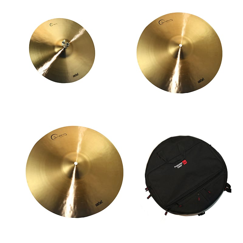 dream 15 18 22 dream contact cymbal set w gator 22 reverb. Black Bedroom Furniture Sets. Home Design Ideas