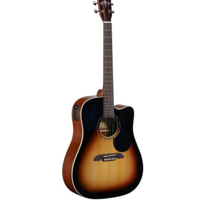 Alvarez Regent RD26CESB Regent 26 Series Dreadnought Acoustic/Electric Sunburst for sale